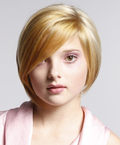 Best ideas about Flattering Hairstyles For Fat Faces . Save or Pin short hairstyles for fat faces with bangs Now.