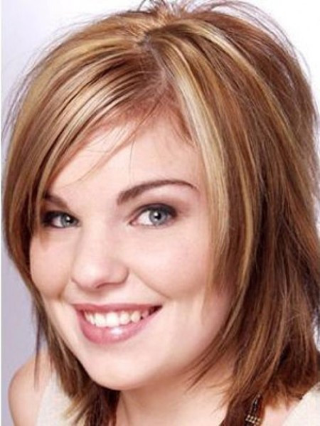 Best ideas about Flattering Hairstyles For Fat Faces . Save or Pin 10 Best Haircuts for Round Face Now.