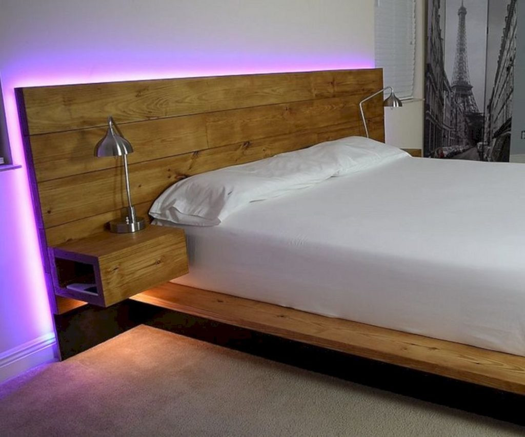 Best ideas about Floating Bed DIY . Save or Pin 24 Amazing Floating Bed Design Ideas For Cozy Sleeping Now.
