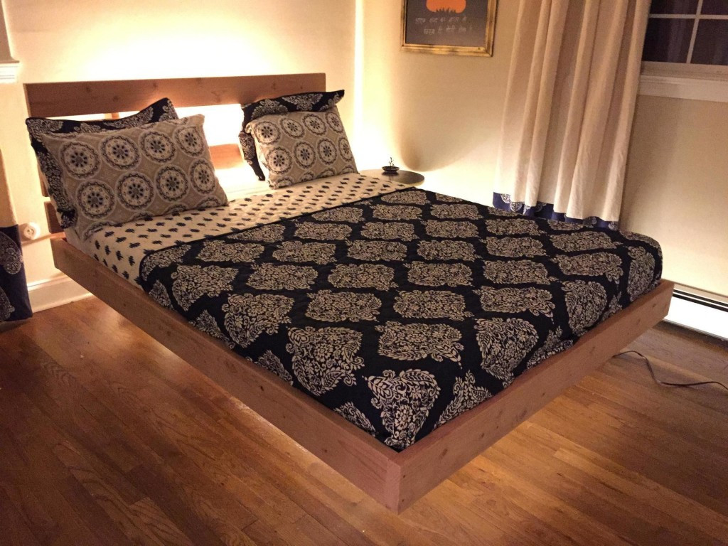 Best ideas about Floating Bed DIY . Save or Pin 20 DIY Bed Frames to Meet Your Sleeping fort Needs Now.
