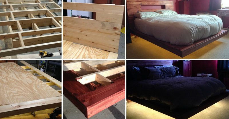 Best ideas about Floating Bed DIY . Save or Pin How to Make Floating Bed DIY & Crafts Handimania Now.