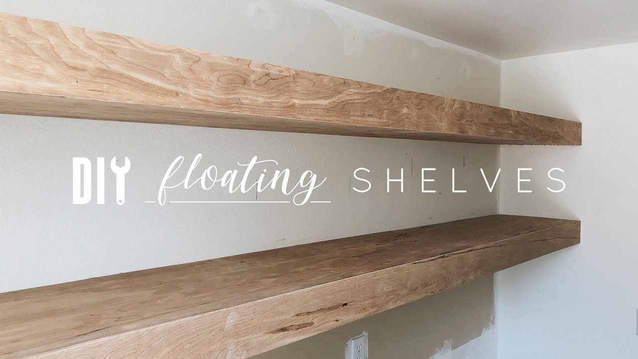 Best ideas about Floating Bookshelves DIY . Save or Pin DIY Floating Shelves Now.