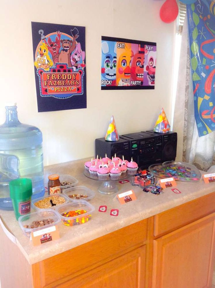 Best ideas about Fnaf Birthday Party Decorations . Save or Pin Five nights at freddy s Birthday Party Ideas Now.