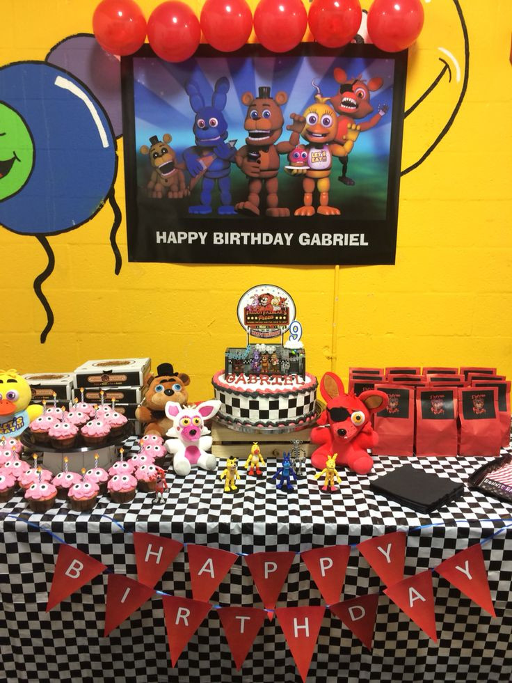 Best ideas about Fnaf Birthday Party Decorations . Save or Pin Best 25 Fnaf cakes birthdays ideas on Pinterest Now.