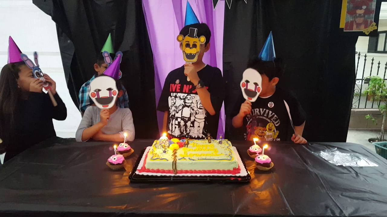 Best ideas about Fnaf Birthday Party Decorations . Save or Pin Fnaf Birthday Party Now.