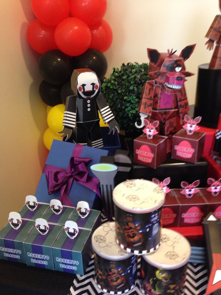 Best ideas about Fnaf Birthday Party Decorations . Save or Pin 12 best FNAF BIRTHDAY PARTY images on Pinterest Now.