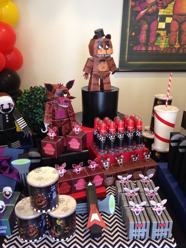 Best ideas about Fnaf Birthday Party Decorations . Save or Pin 1000 images about Five Nights Freddy s Birthday Party on Now.