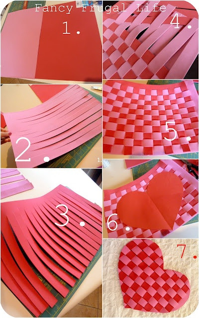Best ideas about Foam Craft Ideas For Adults . Save or Pin foam woven into heart placemats valentines Now.