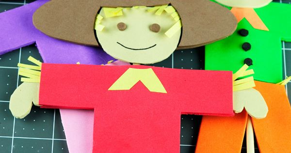 Best ideas about Foam Craft Ideas For Adults . Save or Pin Fall Fun for Kids Foam Scarecrow Puppet Craft Free Now.