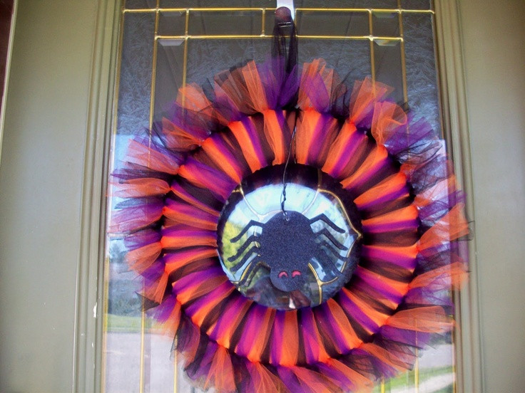 Best ideas about Foam Craft Ideas For Adults . Save or Pin Halloween wreath using foam and display board by Summer Now.