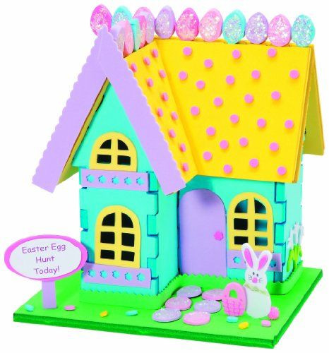 Best ideas about Foam Craft Ideas For Adults . Save or Pin WeGlow International Easter Bunny House 3D Foam Craft Kit Now.
