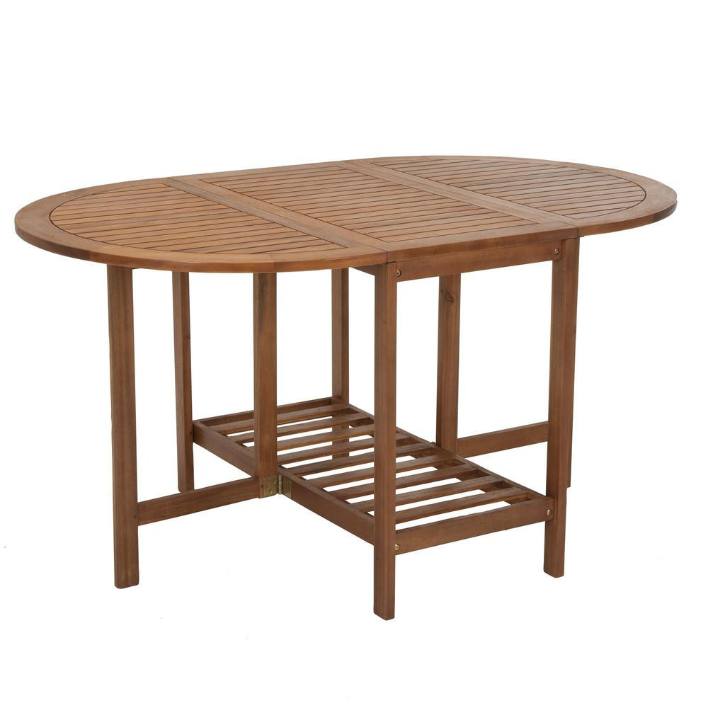 Best ideas about Folding Dining Table . Save or Pin International Concepts Weathered Taupe Gray Small Drop Now.