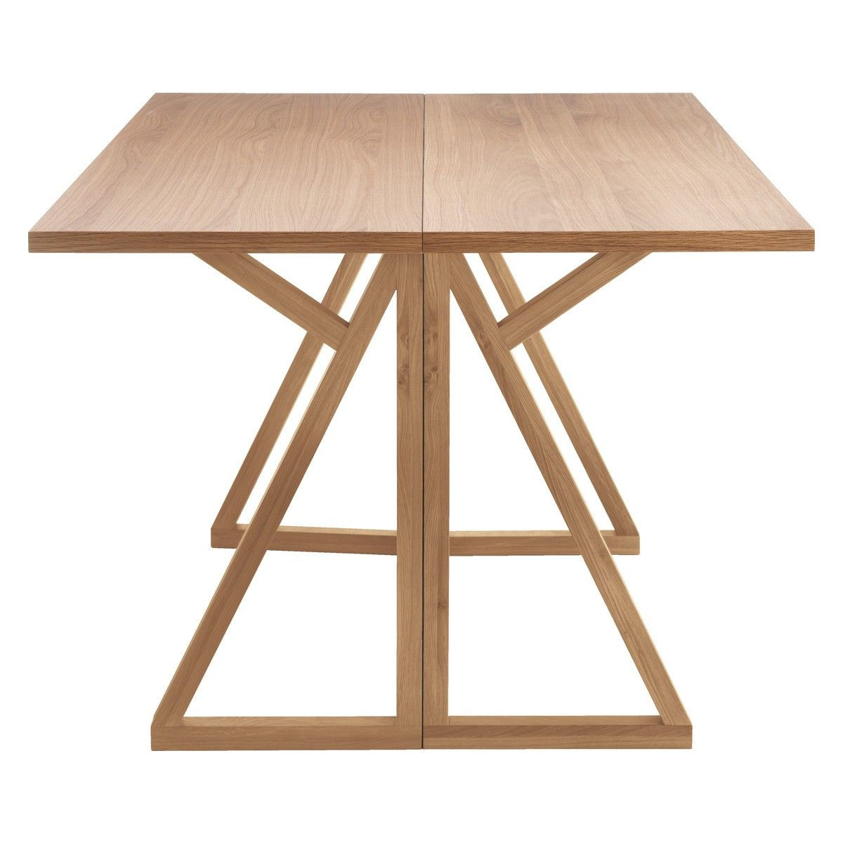 Best ideas about Folding Dining Table . Save or Pin HEATH 2 4 seat oak folding dining table Designed in house Now.