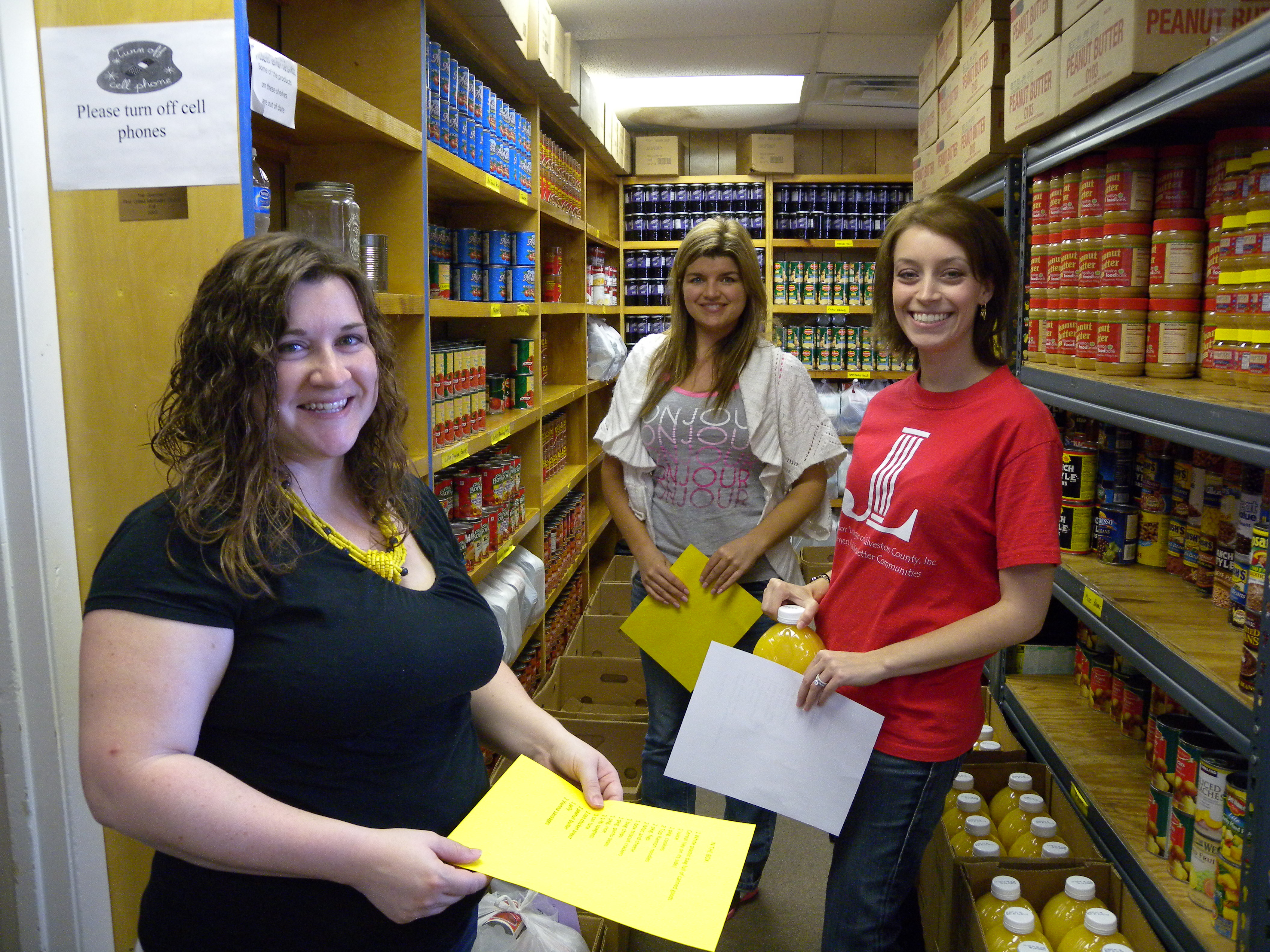 Best ideas about Food Pantry Volunteer . Save or Pin Junior League Volunteers Helping at our Food Pantry Now.