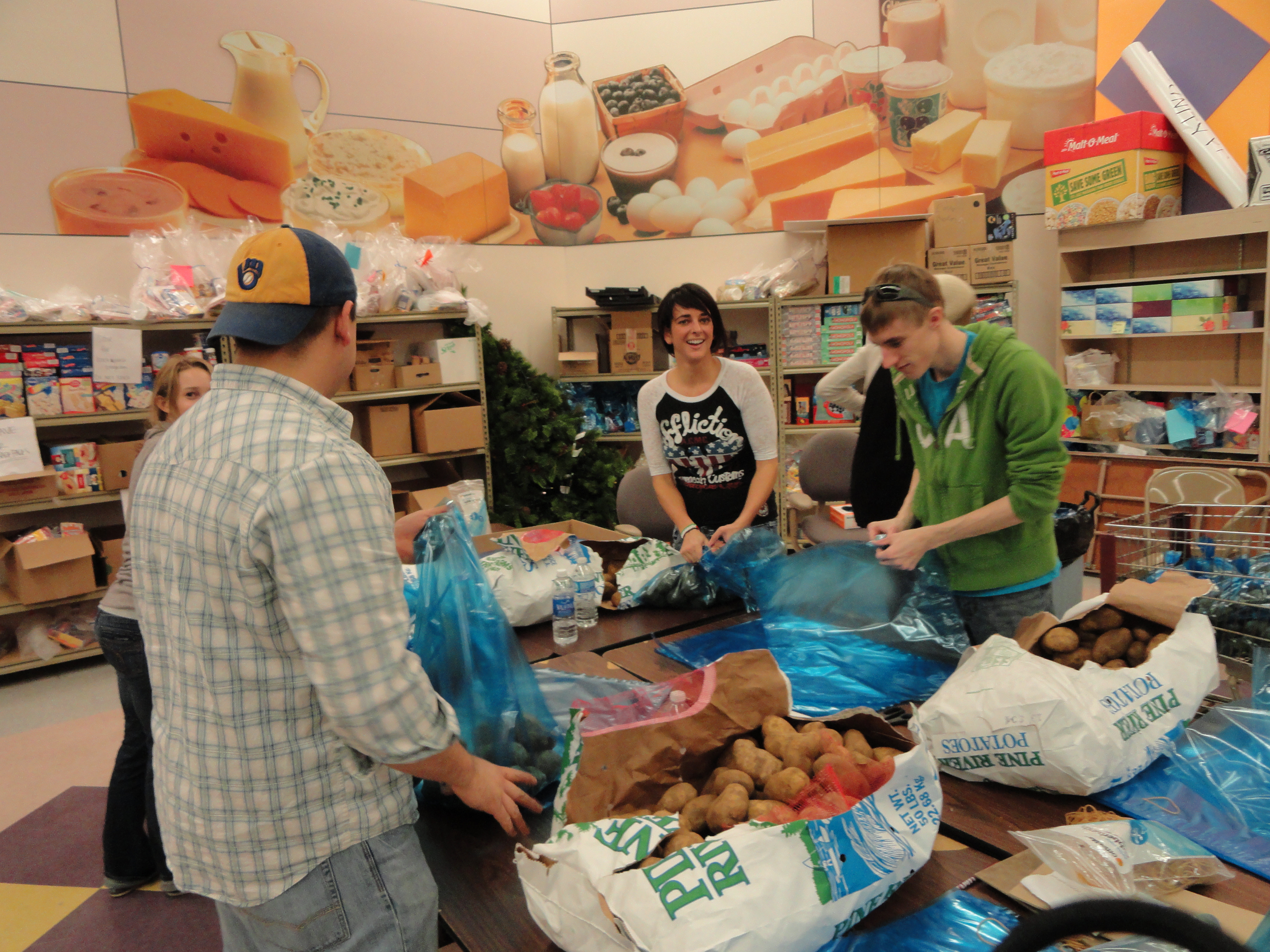 Best ideas about Food Pantry Volunteer . Save or Pin First Volunteer Experience The Oshkosh Food Pantry Now.