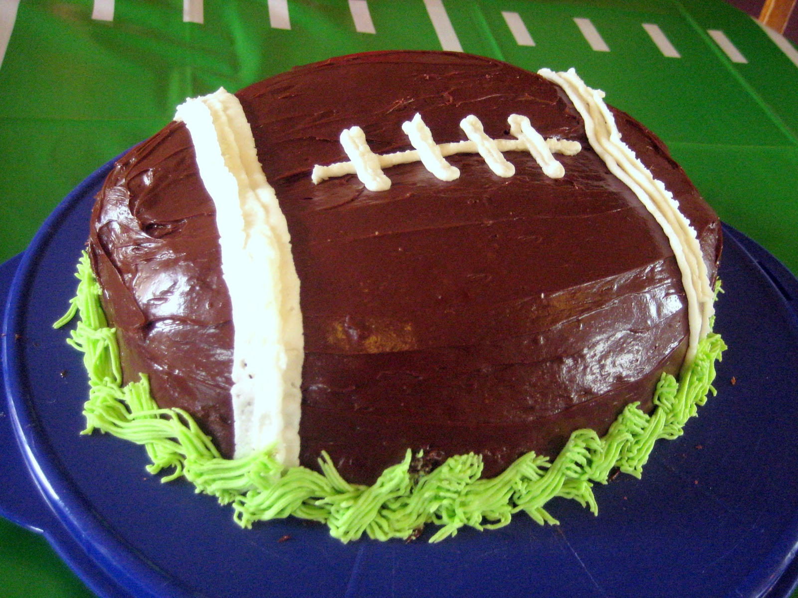 Best ideas about Football Birthday Cake . Save or Pin COBO Football Cakes Now.