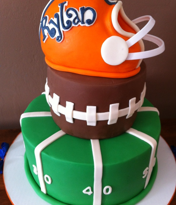 Best ideas about Football Birthday Cake . Save or Pin Top Football Cakes CakeCentral Now.