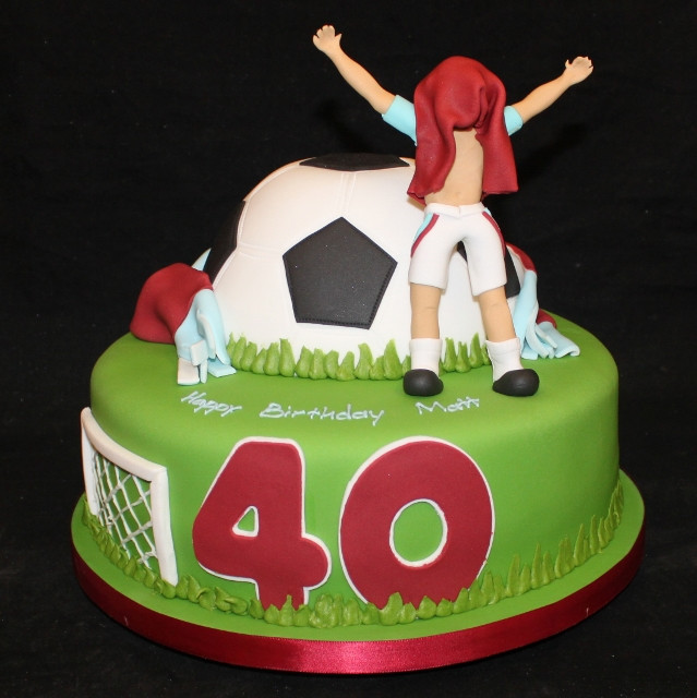Best ideas about Football Birthday Cake . Save or Pin Gardners Bakery Birthday Cakes Northampton Now.