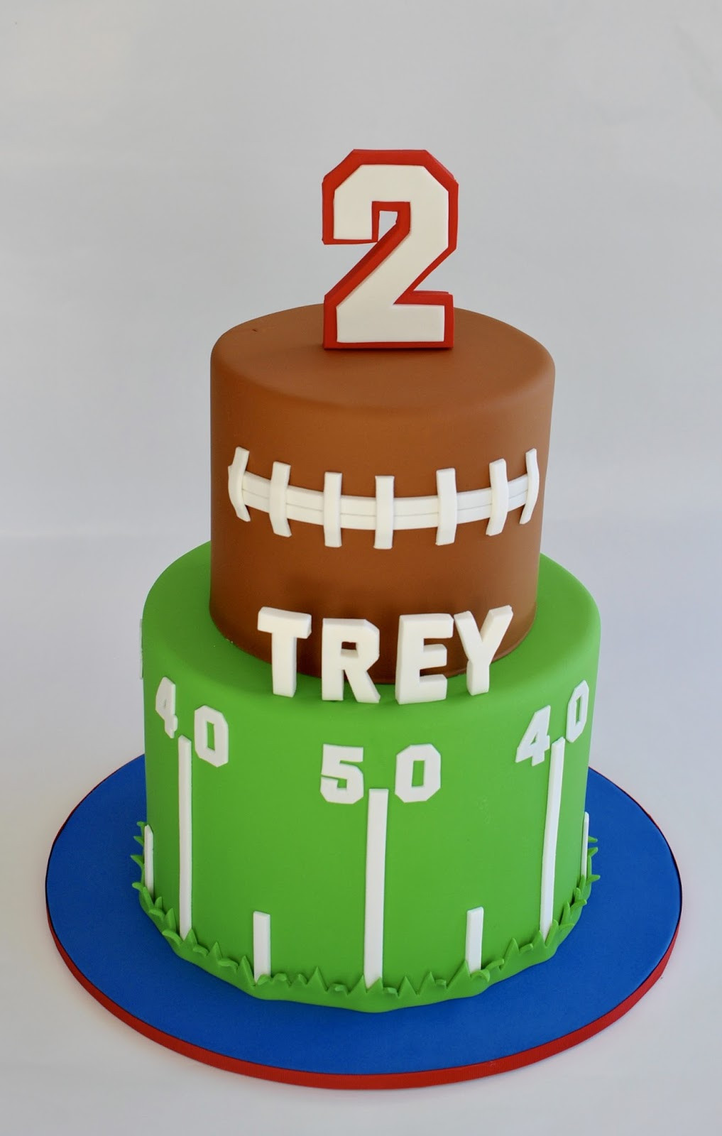 Best ideas about Football Birthday Cake . Save or Pin Hope s Sweet Cakes Sports Cakes Now.