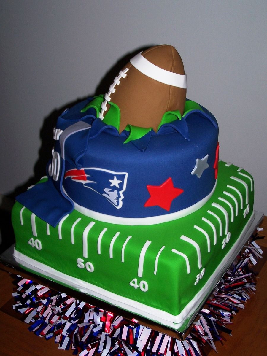 Best ideas about Football Birthday Cake . Save or Pin Best 25 Patriots cake ideas on Pinterest Now.