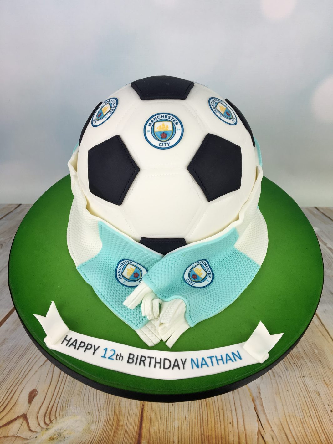 Best ideas about Football Birthday Cake . Save or Pin Manchester city football birthday cake Mel s Amazing Cakes Now.