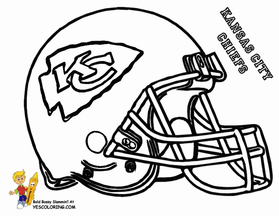 Best ideas about Football Coloring Pages For Boys . Save or Pin Get This Football Helmet NFL Coloring Pages for Boys Now.