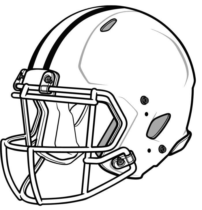 Best ideas about Football Helmet Coloring Pages For Kids . Save or Pin College Football Helmet Coloring Pages Coloring Home Now.