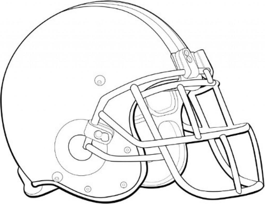 Best ideas about Football Helmet Coloring Pages For Kids . Save or Pin Football Helmet Coloring Pages coloringsuite Now.