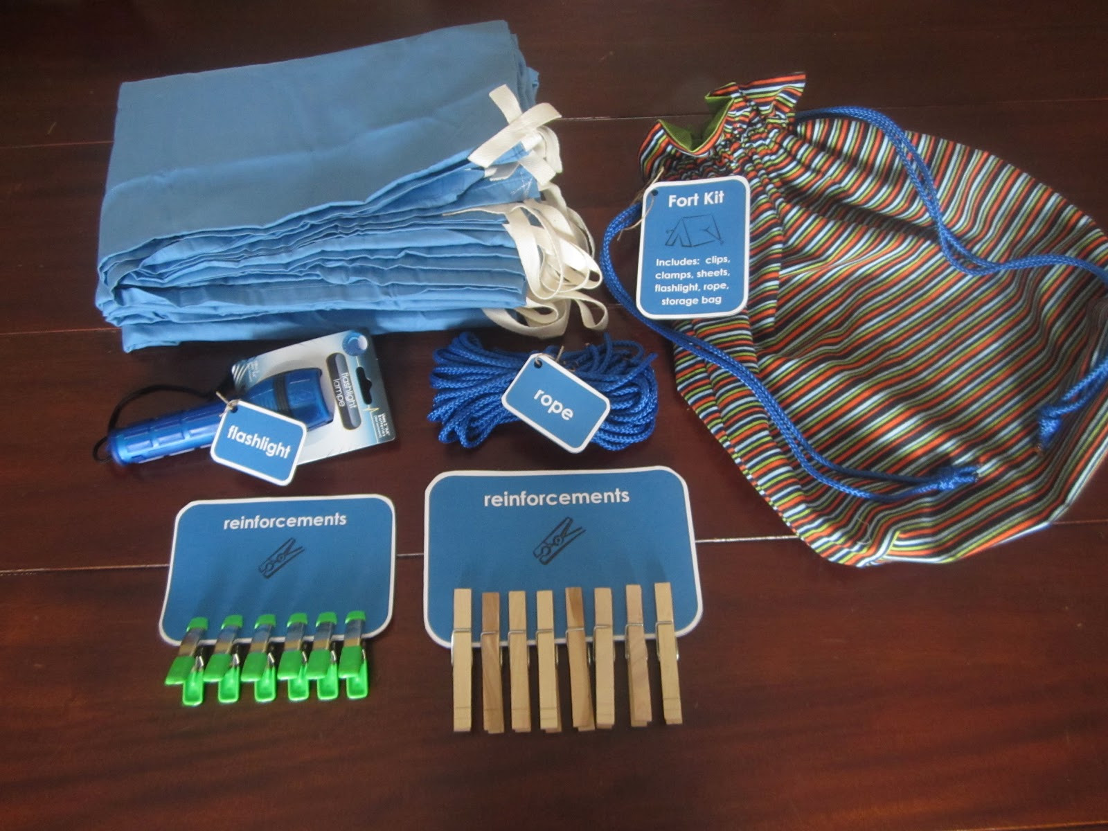 Best ideas about Fort Kit DIY . Save or Pin Make Your Own Fort Kit Now.