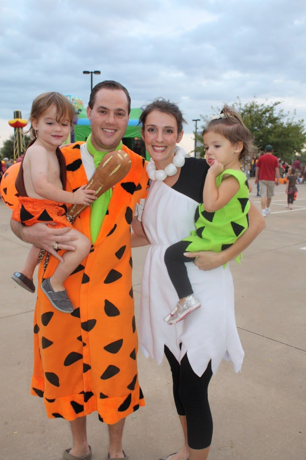 Best ideas about Fred And Wilma Flintstone Costume DIY . Save or Pin wilma fred and bam bam holloween costumes Now.