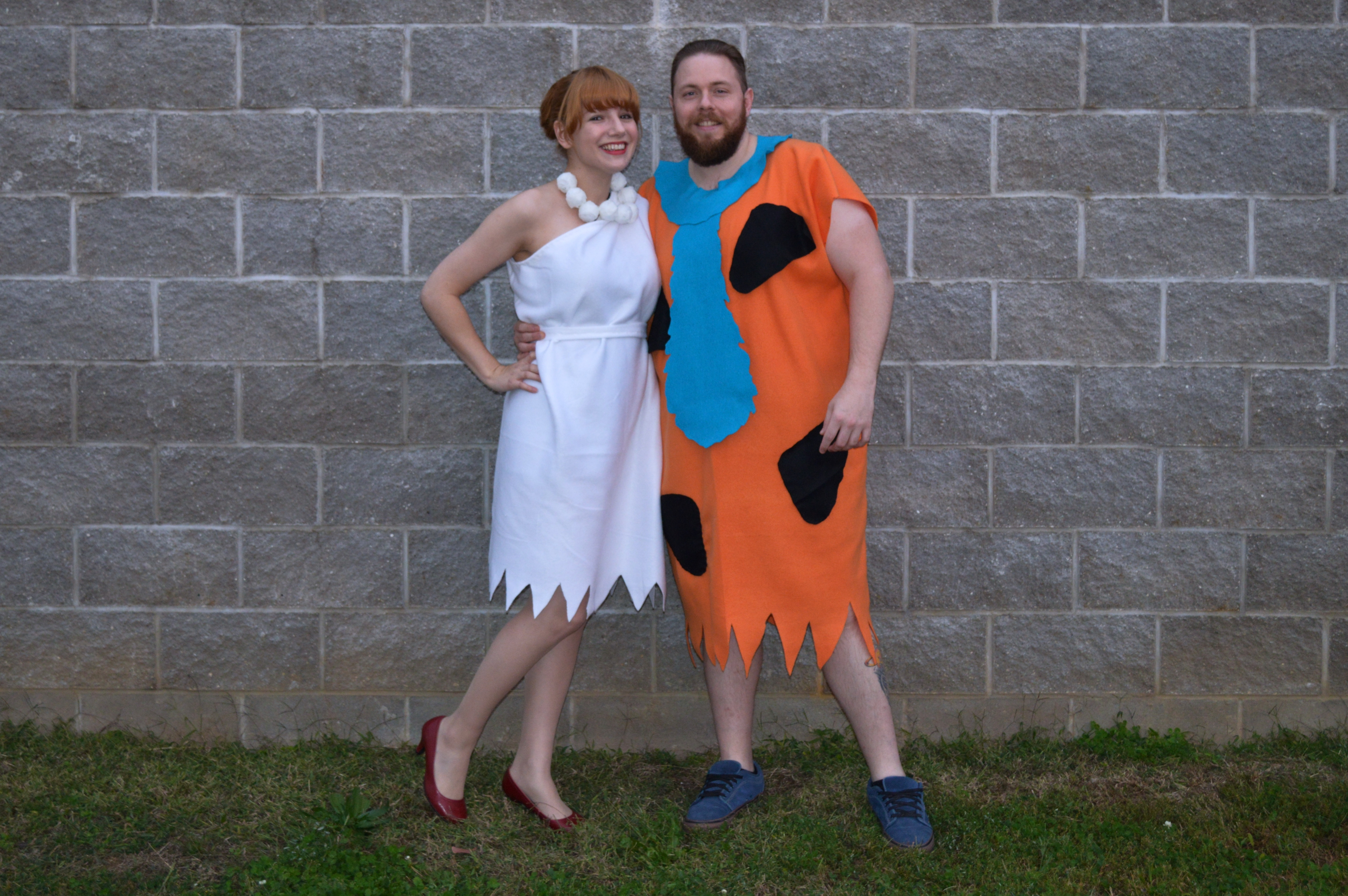 Best ideas about Fred And Wilma Flintstone Costume DIY . Save or Pin Yabba dabba BOO – Oh Julia Ann Now.