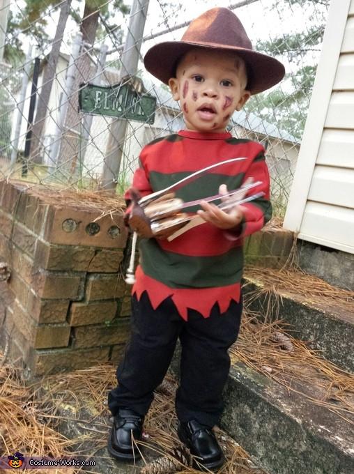 Best ideas about Freddy Krueger Costume DIY . Save or Pin Baby Freddy Krueger Costume Now.