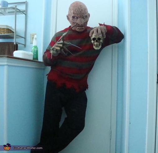 Best ideas about Freddy Krueger Costume DIY . Save or Pin Coolest Homemade Freddy Krueger Costume 8 8 Now.