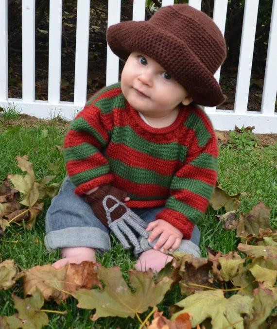 Best ideas about Freddy Krueger Costume DIY . Save or Pin Freddy Krueger Baby Outfit Now.