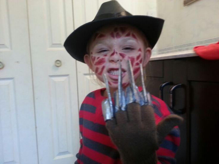 Best ideas about Freddy Krueger Costume DIY . Save or Pin Homemade freddy krueger kids costume Now.