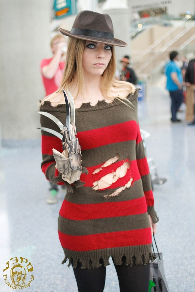 Best ideas about Freddy Krueger Costume DIY . Save or Pin 23 Cheap Homemade Halloween Costumes From Pop Culture Now.