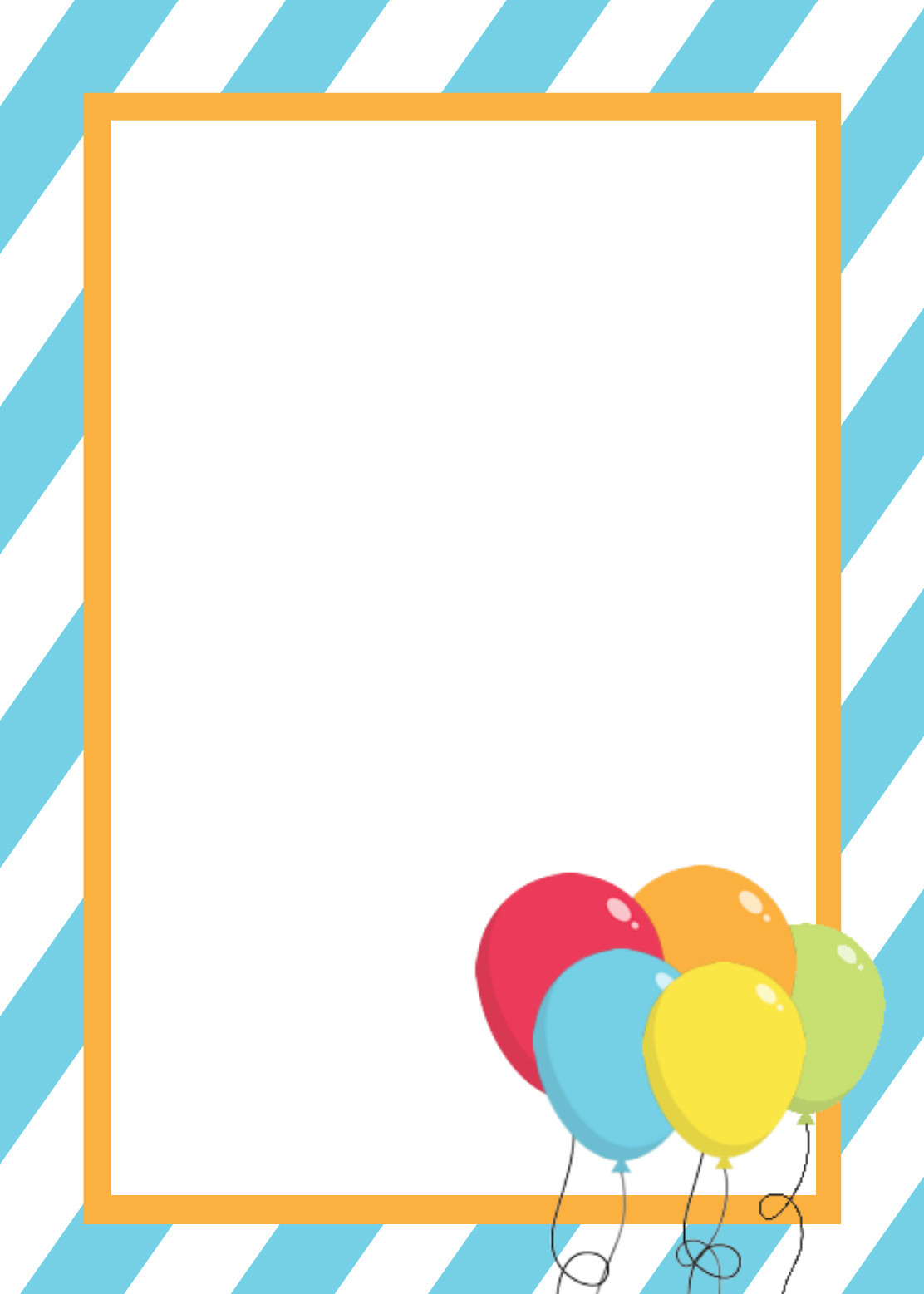 Best ideas about Free Birthday Card Template . Save or Pin Free Printable Birthday Invitation Templates Now.