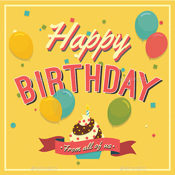 Best ideas about Free Birthday Card Template . Save or Pin 21 Birthday Card Templates – Free Sample Example Format Now.