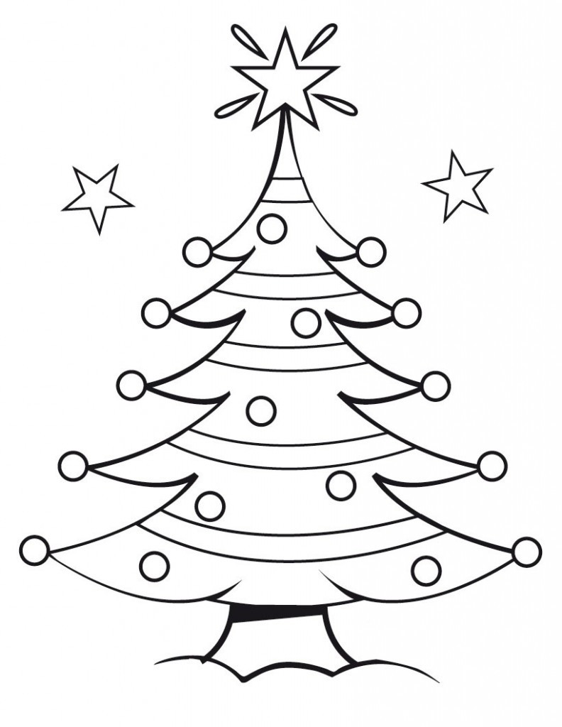 Best ideas about Free Christmas Printable Coloring Sheets For Kids . Save or Pin Free Printable Christmas Tree Coloring Pages For Kids Now.