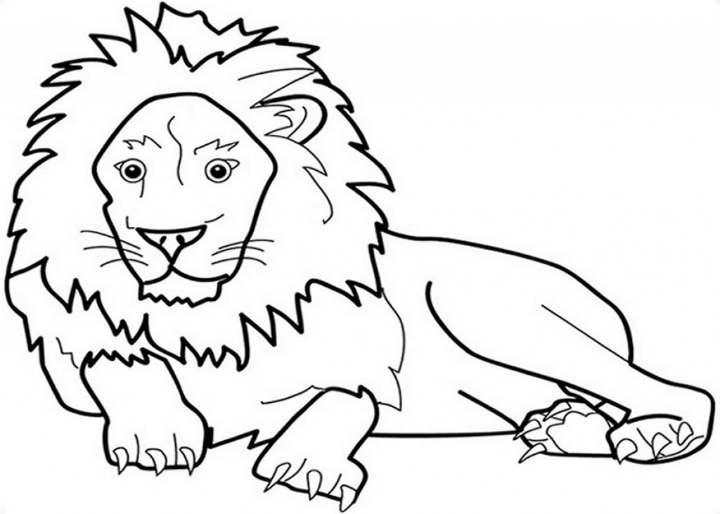 Best ideas about Free Coloring Pages African Animals . Save or Pin Zoo Animals Kids Coloring Pages with Free Colouring Now.
