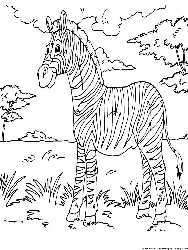 Best ideas about Free Coloring Pages African Animals . Save or Pin 70 best images about the big five on Pinterest Now.