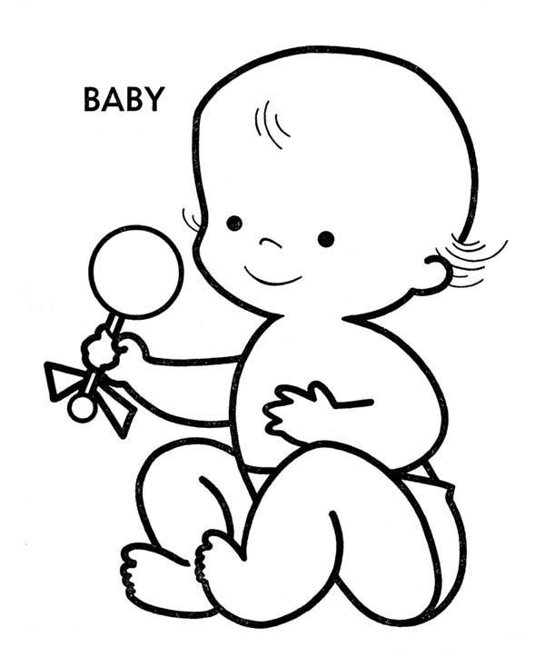 Best ideas about Free Coloring Pages Baby . Save or Pin Baby Coloring Pages Now.