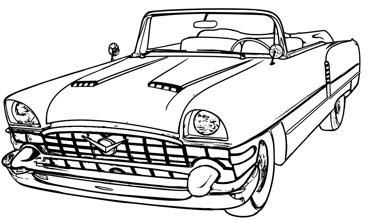 Best ideas about Free Coloring Pages Cars . Save or Pin Car Coloring Pages Now.
