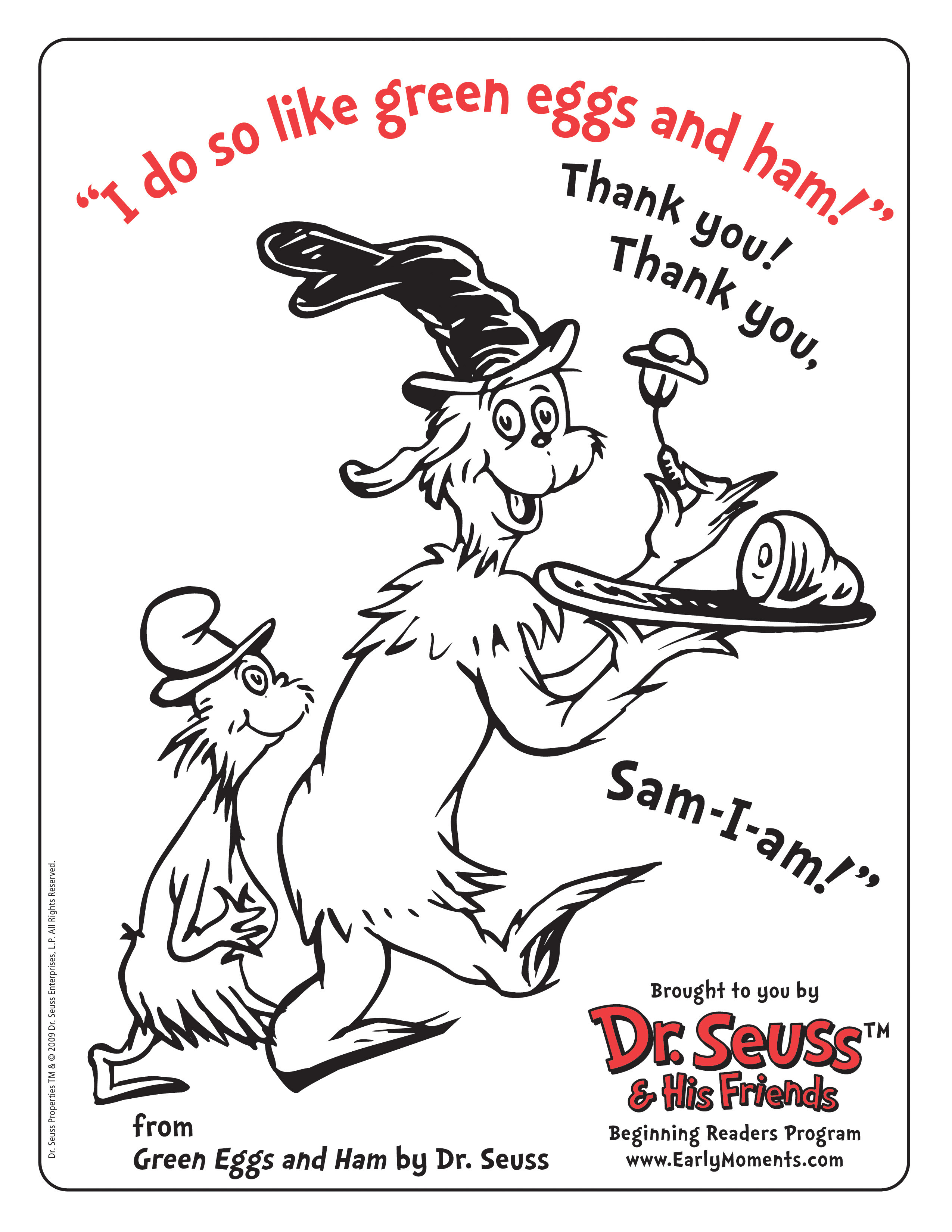 Best ideas about Free Coloring Pages For Dr.Seuss . Save or Pin Happy Birthday to my homie Dr Seuss – scrink Now.