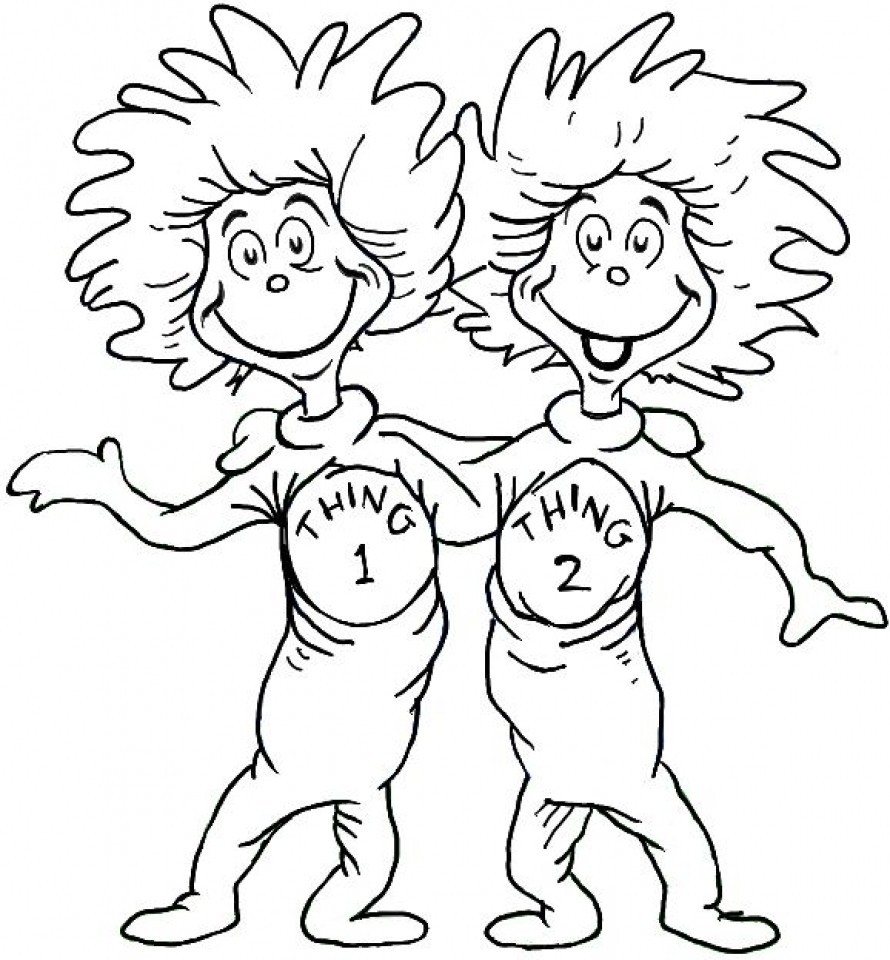 Best ideas about Free Coloring Pages For Dr.Seuss . Save or Pin 20 Free Printable Dr Seuss Coloring Pages Now.