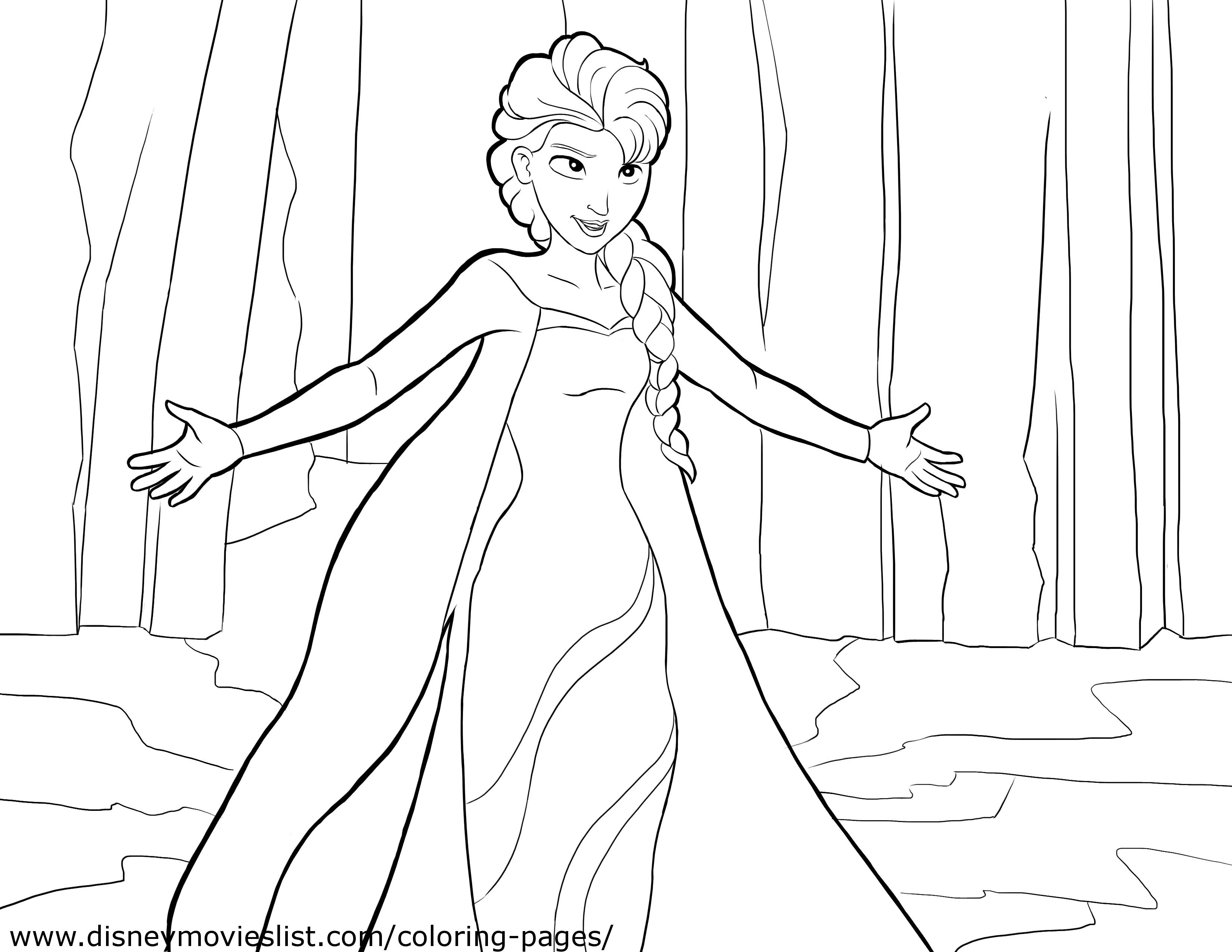 Best ideas about Free Coloring Pages For Girls Frozen . Save or Pin Frozen Coloring Pages 2018 Z31 Coloring Page Now.
