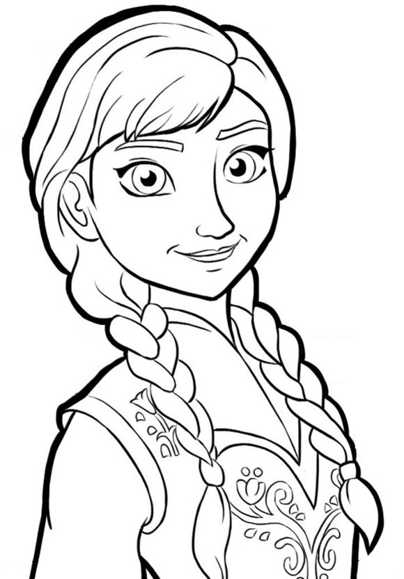 Best ideas about Free Coloring Pages For Girls Frozen . Save or Pin Free Printable Frozen Coloring Pages for Kids Best Now.