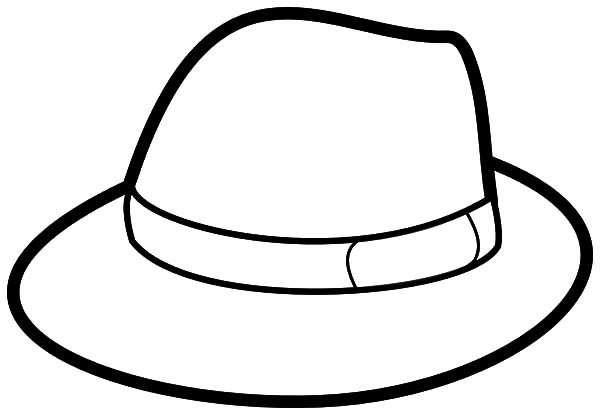 Best ideas about Free Coloring Pages Hats . Save or Pin Hat Colouring Page Now.