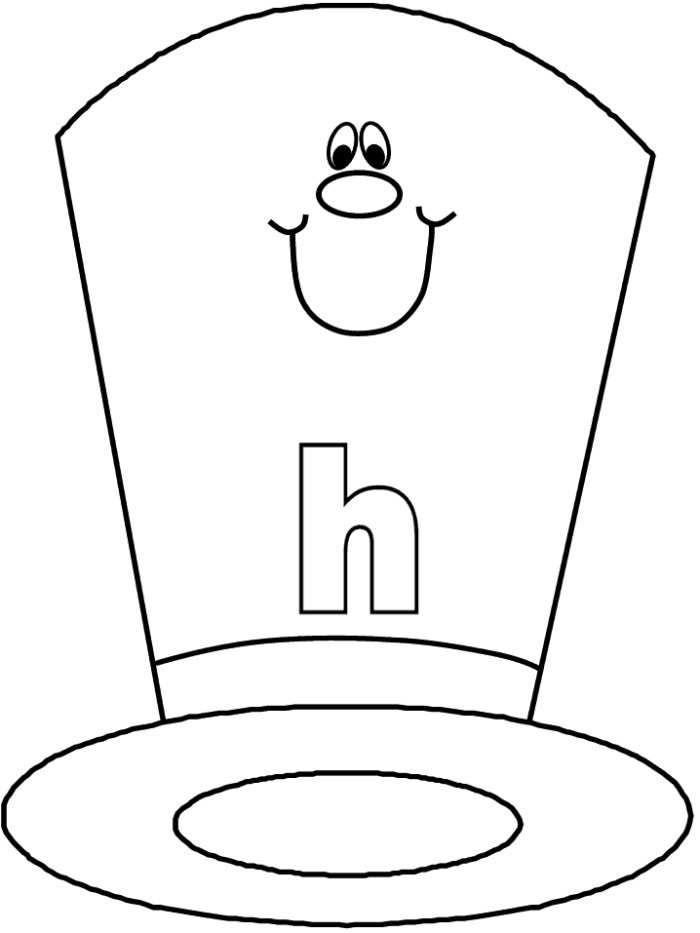 Best ideas about Free Coloring Pages Hats . Save or Pin Hat Coloring Page AZ Coloring Pages Now.