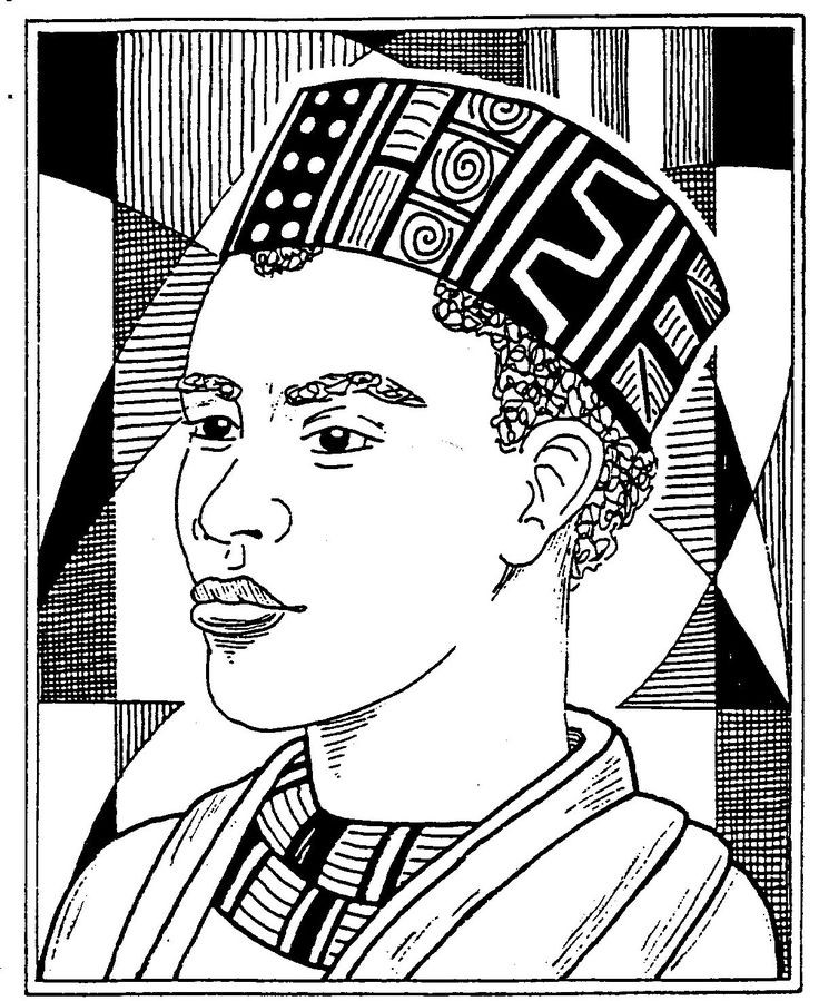Best ideas about Free Coloring Pages Of African Americans . Save or Pin african american coloring pages Now.